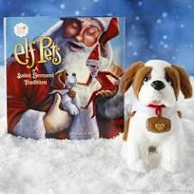 Elf Pets Saint Bernard - Elf on the Shelf