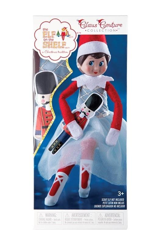 Claus Couture - Snowy Sugar-Plum Duo - Elf on the Shelf