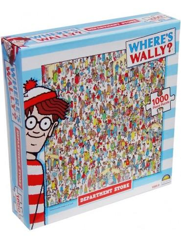 Department Store Wheres Wally 1000 Piece Jigsaw Puzzle
