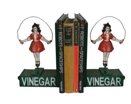 SKIPPING GIRL BOOKENDS (2)