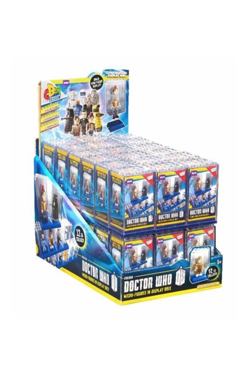 36 ASSORTED DOCTOR WHO CHARACTER BUILDING BIG BRICK