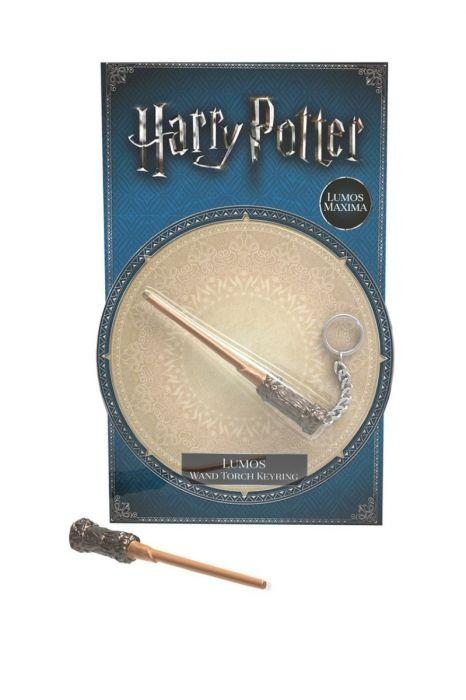 Harry Potter - Lumos Wand Torch Keyring in CDU of 12