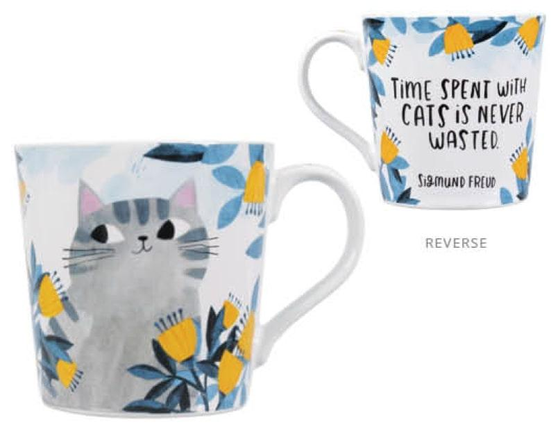 Mug Boxed - Planet Cat (Time Spent With A Cat)