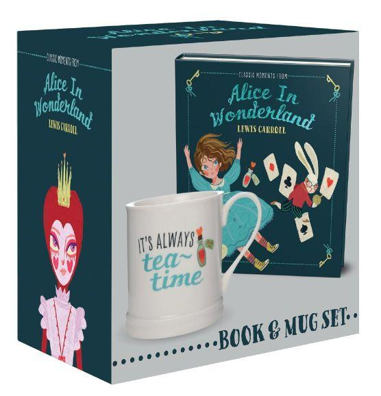 Giftset Book & Mug IHB (Classic Moments Alice Won