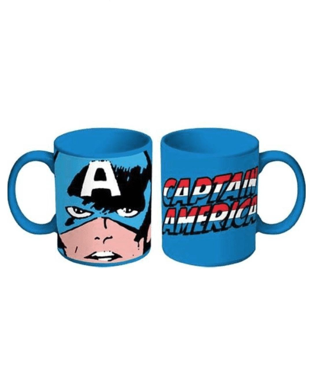 CAPTAIN AMERICA BLUE MUG
