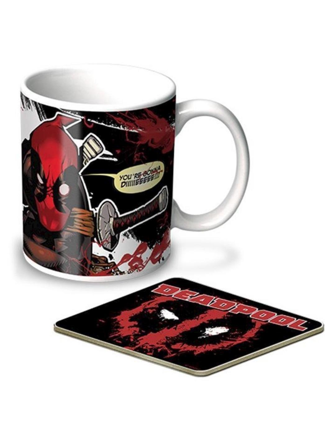 Deadpool Mug & Coaster Set