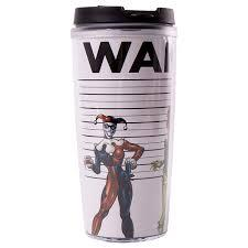 DC BAD GIRLS PLASTIC TRAVEL MUG
