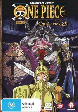ONE PIECE (UNCUT) COLLECTION 29 (EPS 349-360)