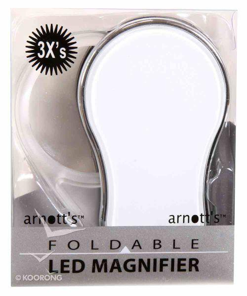 3X Foldable LED Magnifier