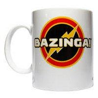 BIG BANG THEORY BAZINGA LOGO COFFEE MUG