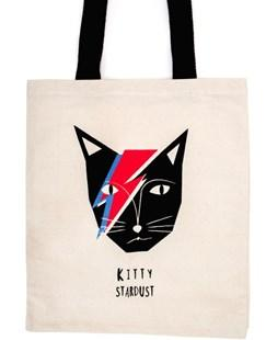 LARGE TOTE-KITTY STARDUST