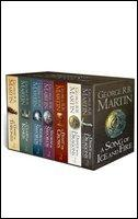 Game of Thrones - 7 VOL A Format Box Set with map and       classic artwork