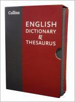Collins English Dictionary And Thesaurus Slipcase