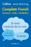 Collins Easy Learning Complete French Grammar Ver