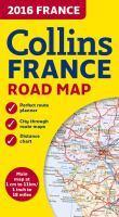 2016 Collins Map Of France [New Edition]