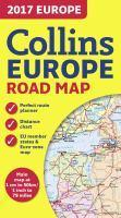 2017 Collins Map Of Europe [New Edition]