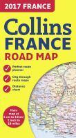 2017 Collins Map Of France [New Edition]