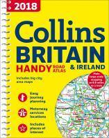 2018 Collins Handy Road Atlas Britain [New Edition