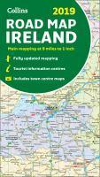2019 Collins Map Of Ireland [New Edition]