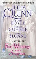 Four Weddings and a Sixpence An Anthology