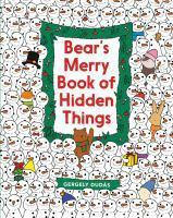 Bear's Merry Book Of Hidden Things Christmas Seek
