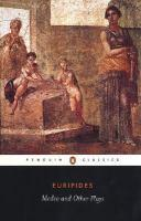 MEDEA & OTHER PLAYS John Davies Translation