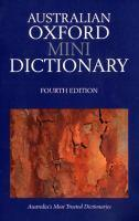 Australian Mini Oxford Dictionary 4Th Edition