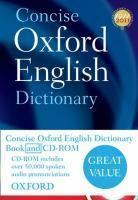 Concise Oxford English Dictionary Book & CD-ROM set 12th Ed