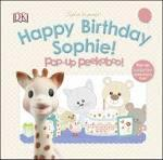 Sophie La Girafe Pop-Up Peekaboo Happy Birthday S