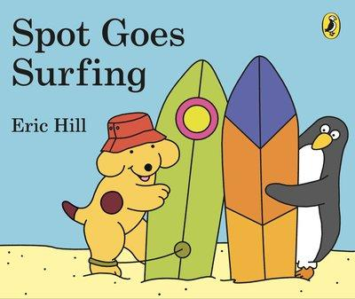 Spot Goes Surfing
