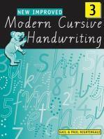 New Improved Modern Cursive Handwriting 3