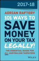 101 Ways to Save Money on Your Tax Legally 2017-18