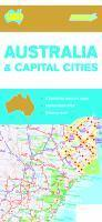 Australia & Cap Cities Map 180 11th