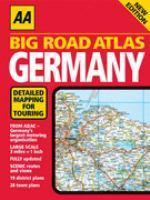 AA BIG ROAD ATLAS GERMANY 6ED