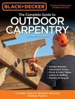 Complete Guide to Outdoor Carpentry (Black and Dec