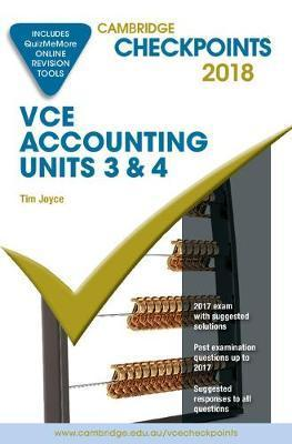 Cambridge Checkpoints VCE Accounting Units 3&4 201