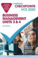 Checkpoints Business Management Units 3&4 2020