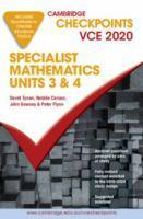 Checkpoints Specialist Mathematics Units 3&4 2020