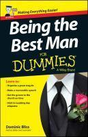 Being the Best Man for Dummies 2E