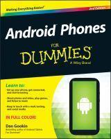 Android Phones for Dummies 2nd Edition