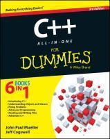 C++ All-In-One for Dummies 3rd Edition