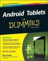 Android Tablets for Dummies 2nd Edition