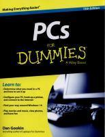 PCs for Dummies 13th Edition