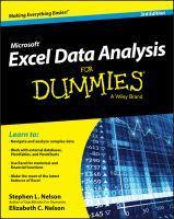 Excel Data Analysis for Dummies 3rd Edition