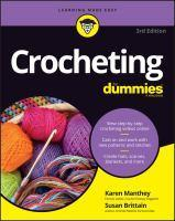 Crocheting for Dummies 3rd Edition