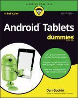 Android Tablets for Dummies 4th Edition
