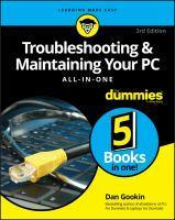 Troubleshooting & Maintaining Your PC Aio for Dumm
