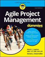 Agile Project Management for Dummies 2nd Edition