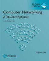 Computer Networking A Top-Down Approach Global Edition