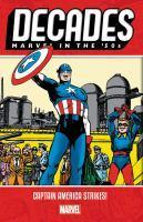 Decades Marvel in the 50s - Captain America Strik